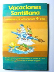 vacaciones santillana
